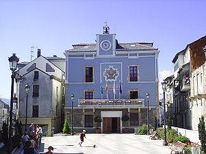 Navia, Asturias - Navia's Town Hall.