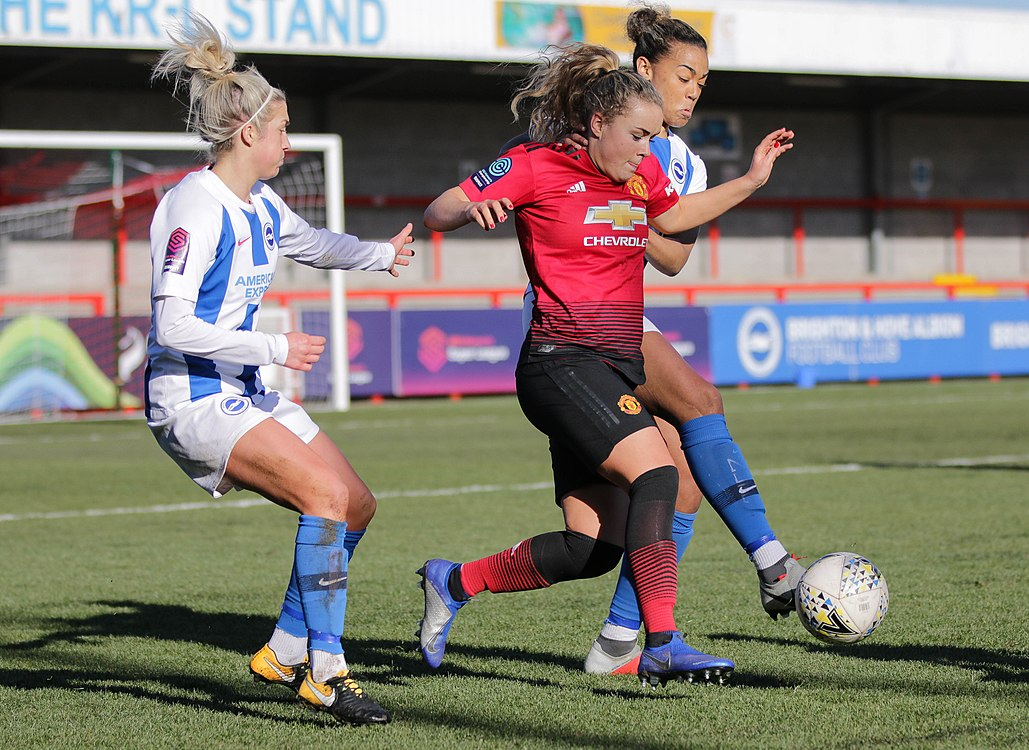 BHA Women 0 Man Utd Women 2 WFAC 4th rd 03 02 2019-651 (46934165182).jpg