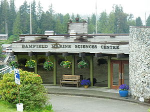 Bamfield Marine Sciences Centre - The main building of the Bamfield Marine Sciences Centre, and one of the original cable station buildings.
