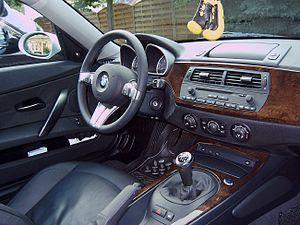BMW Z4 (E85) - Interior