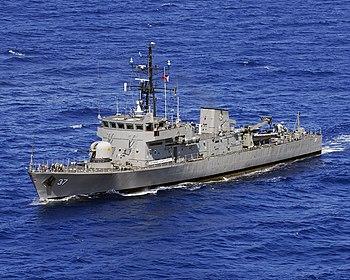 BRP Artemio Ricarte (PS-37), a Jacinto class c...