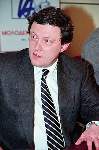 Grigory Yavlinsky - Yavlinsky in 1999