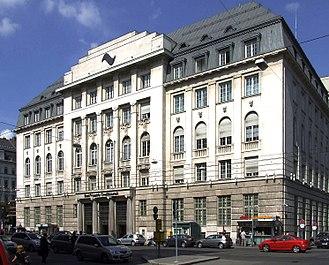 Creditanstalt - Former Creditanstalt headquarters, Vienna
