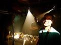 Babak Khoshnoud (director, camera & editor) - Com Truise, Room 205, 2012-11-07.jpg