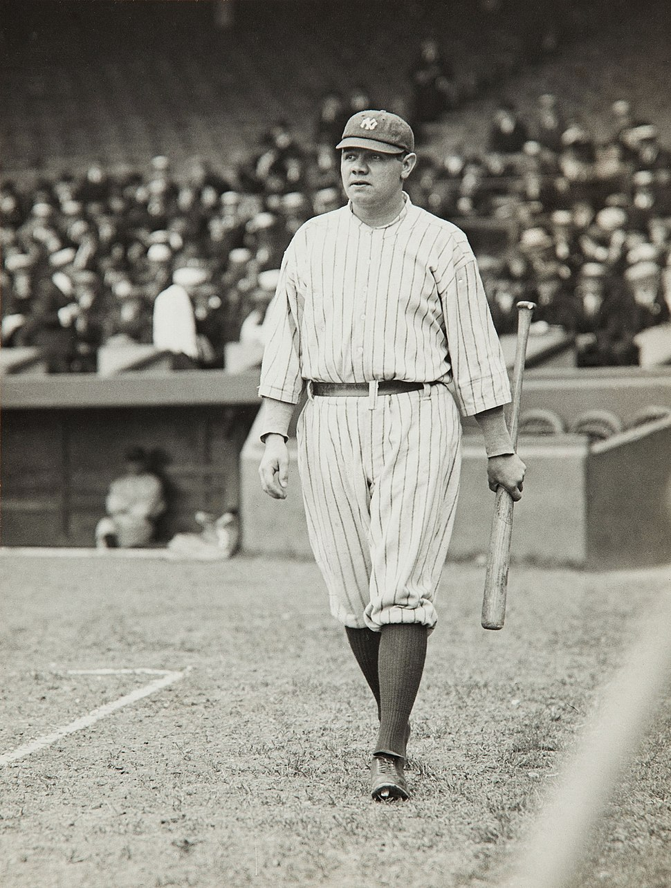 Babe Ruth by Paul Thompson, 1920