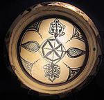 Bacino ceramico da facciata del duomo di s. miniato, nord-africa, 1190 ca. 05.JPG