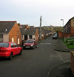 Back street in Tanfield Lea, Co.Durham - geograph.org.uk - 76462.jpg