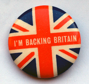 1968 in the United Kingdom - Image: Backing Britain Badge