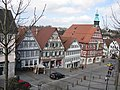 Backnang Marktplatz-mit-Rathaus 2017 (MTheiler) 4673.JPG