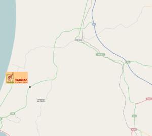 badoca park mapa localização Badoca Safari Park – Wikipédia, a enciclopédia livre badoca park mapa localização