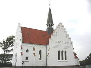 Langeland - Image: Bagenkop Kirke