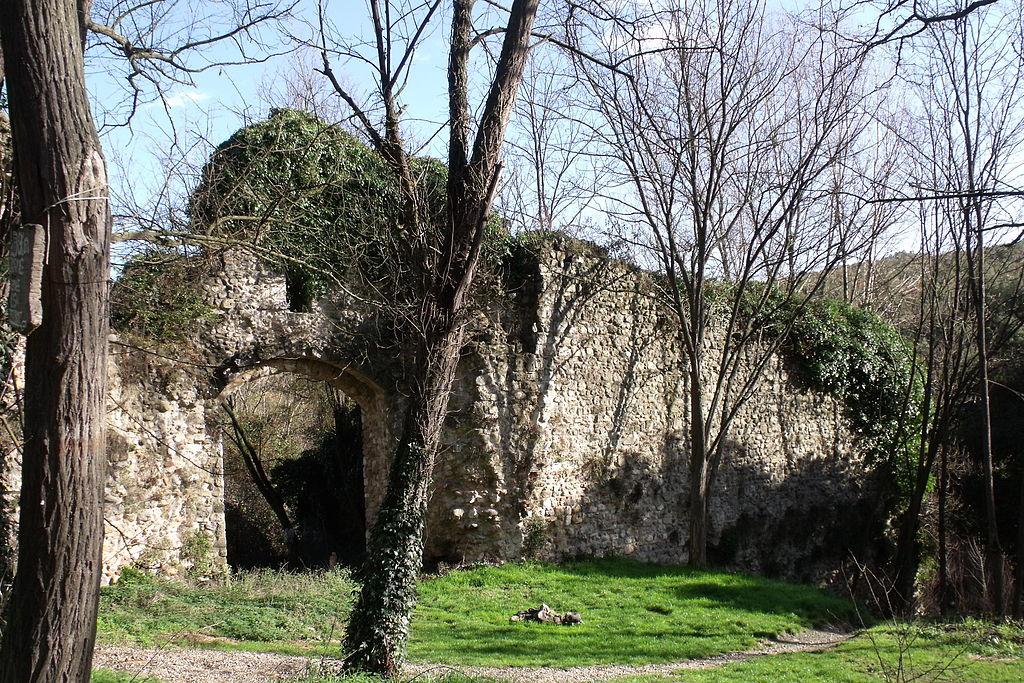 Rovine delle mura cittadine di Bagni di Petriolo, Monticiano