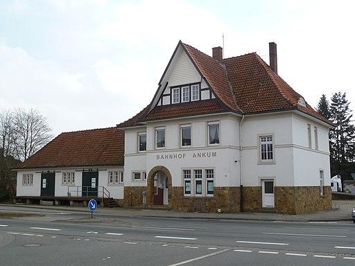 Bahnhof Ankum Gebäude