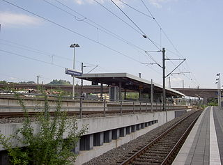 railway station in Stuttgart, Germany