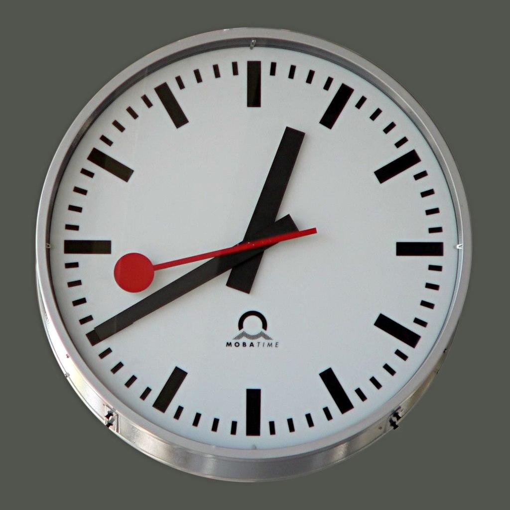 Une horloge suisse