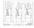 Bainbridge House, 158 Nassau Street, Princeton, Mercer County, NJ HABS NJ,11-PRINT,6- (sheet 10 of 14).png
