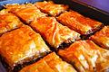 Baklavas, freshly baked.jpg