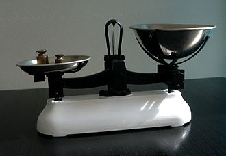 W & T Avery - Set of scales made by Avery early 20th century