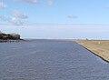Balje 2006 -Mündung der Oste- by-RaBoe 02.jpg