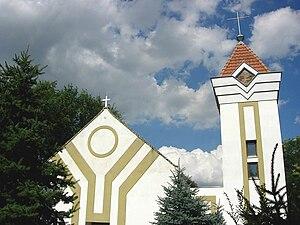 Banatski Dvor - Image: Banatski Dvor, Catholic Church