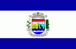 Cachoeiras de Macacu - Image: Bandeira de Cachoeiras de Macacu