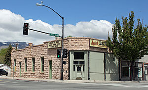 National Register of Historic Places listings in Carson City, Nevada - Image: Bank Saloon
