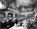 Banquet for excursion members in the Davenport Hotel, Spokane, September 1908 (WASTATE 1475).jpeg