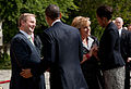 Barack and Michelle Obama welcomed by Enda Kenny.jpg