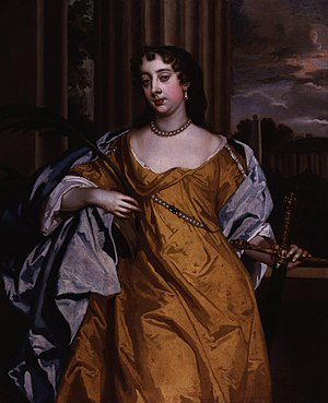 1666 in art - Image: Barbara Palmer (née Villiers), Duchess of Cleveland by Sir Peter Lely