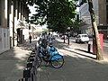 Barclays Bike Hire Docking Station on Stamford Street - geograph.org.uk - 2021087.jpg