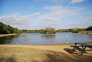 Haysden Country Park - Image: Barden Lake, Haysden Country Park geograph.org.uk 1530226