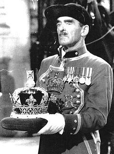 British army officer, Queen