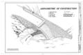 Baring Creek Bridge, Spanning Baring Creek at Going-to-the-Sun Road, West Glacier, Flathead County, MT HAER MONT,15-WEGLA,14- (sheet 3 of 3).png