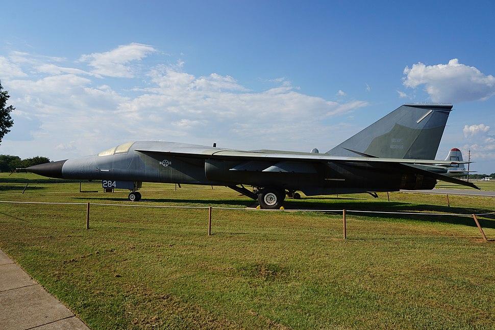 Barksdale Global Power Museum September 2015 25 (General Dynamics FB-111A Aardvark)