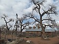 Barn at the Heritage Farm, Rio Grande Botanic Garden, Albuquerque NM.jpg