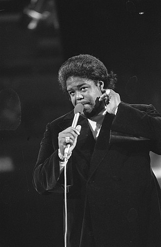 Barry White - White performing in February 1974