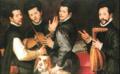 Bartolomeo Passarotti, Ritratto dei fratelli Monaldini.png
