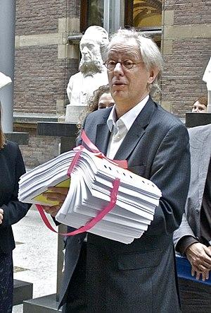 Bas Jan van Bochove - Image: Bas Jan van Bochove petitie