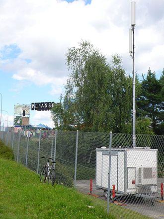 Base transceiver station - A mobile BTS