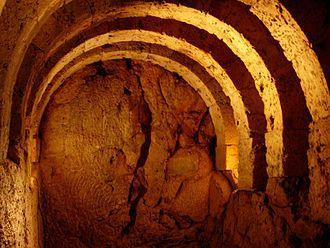 Necromanteion of Acheron - Image: Basement of Necromanteion