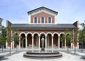 St Boniface's Abbey, Munich - St. Boniface's Abbey