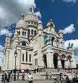 Basilique Sacré Cœur Montmartre façade sud Paris 8.jpg