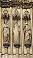 Basilique Sainte-Clotilde Paris Portail Statues 1 26102018.jpg