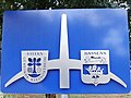 Bassens chateau beaumont plaque jumelage -2015a.jpg