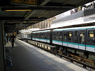 Bastille (Paris Métro) - Image: Bastille line 1 Métro Station 02