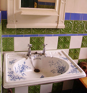 Bathroom in the Beamish Museum 02