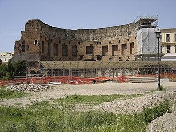 Restos de las Termas de Trajano
