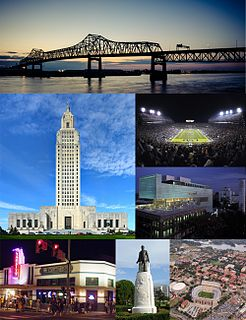 Baton Rouge, Louisiana Capital of Louisiana
