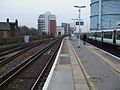 Battersea Park stn main line fast look north.JPG