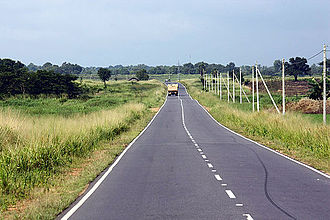 Eastern Province, Sri Lanka - Developed Batticaloa-Polonnaruwa Road